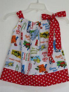 Sale Last OneChildrens Pillowcase Dress by AquamarsBoutique, $20.00