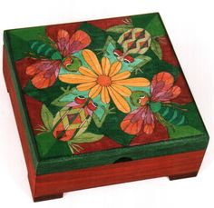 Bees and Frogs Box - Helen Heins Peterson