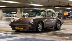 Porsche 911 3.0 Coupe at Schiphol, The Netherlands