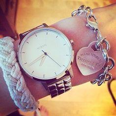 Nixon: The Kensington Watch styled by @Léonie Pelletier on Instagram