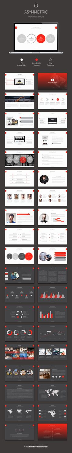 Asymmetric - Powerpoint Template