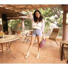 """@Kiana Valenciano's photo: """"Thanks for these shorts @xxxmnl!  Super cute! """""""