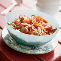 Spiced Marinated Tomatoes | MyRecipes.com