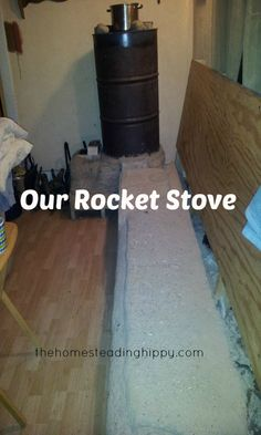 Our Rocket Stove Intro - The Homesteading Hippy