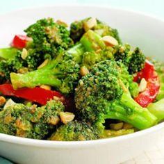 Spicy Stir-Fried Broccoli & Peanuts  - EatingWell.com