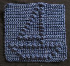 Sailboat Bobble Chart Free Crochet Pattern from Kari Philpott
