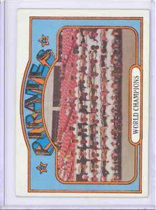 1972 Topps 1 Pittsburgh Pirates World Champions Roberto Clemente EXMT   eBay