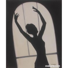 Dancing Lonely At The Midnight Oil Painting for sale on overArts.com
