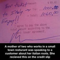 There's still good people out there.