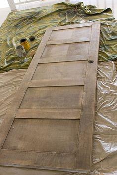 5 Panel Door from a Flat Hollow Core Door | Remodelaholic | Bloglovin'
