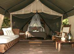handmade glamping | Mr & Mrs Smith_Paperbark Camp_Jervis Bay_Australia_Deluxe Tent ...