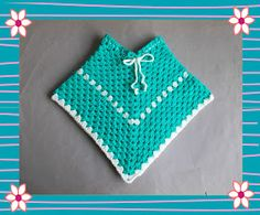 Crochet Dolls Design Easy Toddler Crochet Poncho I would like to point out that this is not my design - this traditional way of crocheting a ponch. Crochet Baby Poncho, Crochet Toddler, Crochet Poncho Patterns, Crochet Bebe, Crochet Girls, Crochet For Kids, Easy Crochet, Free Crochet, Knit Crochet