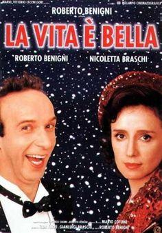 La vita è bella. Un film di Roberto Benigni. Con Horst Buchholz, Roberto Benigni, Giustino Durano, Nicoletta Braschi, Giuliana Lojodice.  Drammatico, Ratings: Kids+13, durata 131 min. - Italia 1997