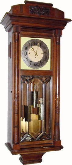 Antique Gustav Becker Clock