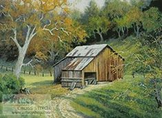 free country barn and house cross stitch patterns | keywords barn country farm more designs by tereena clarke barn on ...