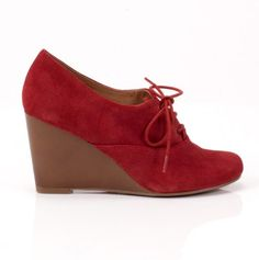 cute, red wedges for just $14.99