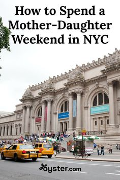 Looking to bond with your mom or your daughter? No matter what age you are, a mother-daughter weekend getaway to New York City is sure to be a big hit, with food, shopping, and entertainment galore. The question is, with so many things to do, how do you possibly plan an itinerary? We've got you covered with the best activities for a weekend ladies' trip to the Big Apple. And with Mother's Day around the corner, we hope you book soon!