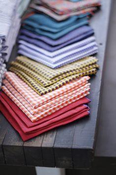 Rainbow pocket squares