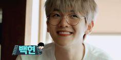 "sefuns: """"Smiling Baekhyun 😊 // Ride the Ladder and Travel the World — teaser ✧ for anon "" "" Exo Ot12, Chanbaek, Chanyeol, Wattpad, Exo K, Boy Groups, Gifs, Bacon, Death"