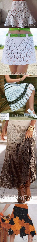 8032da8e9b18 Красивые стильные юбки | Клубок Crochet Skirts, Crochet Clothes, Crochet  Tops, Knit Crochet
