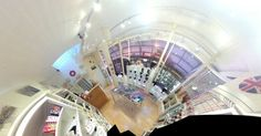 Another funky view of our shop!