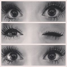 Long lashes are perfect