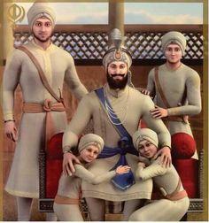 🙏🙏🙏🙏 Punjab God with son's shri guru gobind Singh Ji. Guru Nanak Ji, Nanak Dev Ji, Guru Granth Sahib Quotes, Sri Guru Granth Sahib, Guru Tegh Bahadur, Sikhism Religion, Guru Nanak Wallpaper, Gurbani Quotes, Sikh Quotes