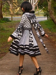 DEPOSIT ONLY Womens PiXiE Coat Upcycled Sweater Coutures sizes S, M , L,  XL. $39.00, via Etsy.