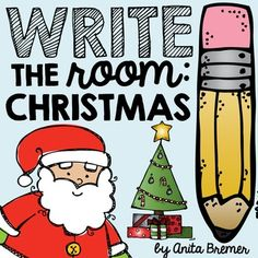 Write the Room: Christmas Your students will have fun expanding their vocabulary, practicing their handwriting skills, and matching numbers. Kindergarten Writing Activities, 1st Grade Activities, Word Work Activities, Kindergarten Centers, Kindergarten Classroom, Teaching Ideas, 1st Grade Writing, First Grade Classroom, Vocabulary Practice