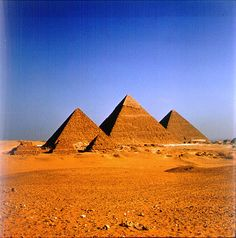 I'd love to see the pyramids of Egypt