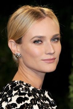 Diane Kruger knows how to nail the classic look.