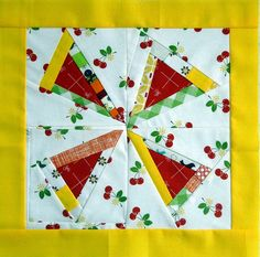 My block - for the modern block quilt along on Media School Media School Pune Modern Quilt Patterns, Quilt Block Patterns, Pattern Blocks, Quilt Blocks, Cathedral Window Quilts, Single Quilt, Pinwheel Quilt, Mug Rugs, Quilting Tips