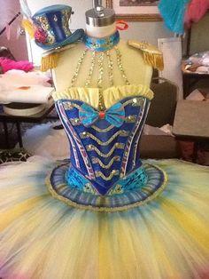circus tutu fabulous !  BEAUTIFUL!!!!!  Wish I had the materials for the bodice!