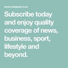 Subscribe today and enjoy quality coverage of news, business, sport, lifestyle and beyond.