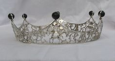 Likes for foldable, basic shape, and cut work foldable baronial coronet by http://www.dragonsjewels.com/