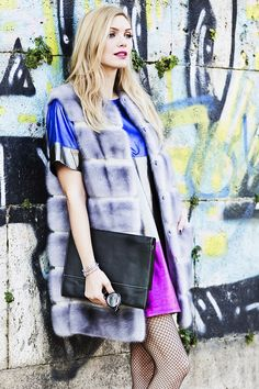 Shiny dress by Eleonora Albrecht - Dollaro pochette | dudubags