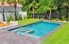 The best Small Inground Pool Ideas are those that offer you some more ways to explore new options and just have fun with this. pool ideas 27 Best Small Inground Pool Ideas in 2019 - Trumtin Small Inground Pool, Small Swimming Pools, Small Backyard Pools, Backyard Pool Landscaping, Swimming Pools Backyard, Swimming Pool Designs, Small Pool Ideas, Pools For Small Yards, Inground Pool Designs