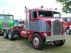 1950 White Freightliner COE.