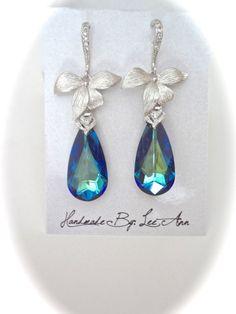 Hey, I found this really awesome Etsy listing at https://www.etsy.com/listing/227364175/bermuda-blue-crystal-earrings-swarovski