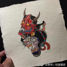 Ideas Tattoo Old School Design Ideas Ink Style Japanese Tattoo Designs, Japanese Tattoo Art, Best Tattoo Designs, New School Tattoos, Traditional Tattoo Art, Traditional Japanese Tattoos, Tattoo Sketches, Tattoo Drawings, Art Tattoos