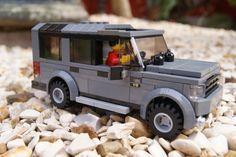 lego land rover car moc   Land Rover Discovery 4