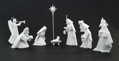 Origami Nativity Set - The Afternoon