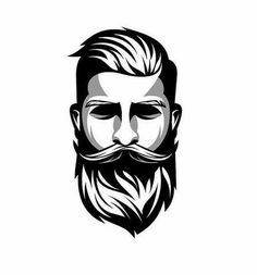 We have selected 10 of our favorite recipes which produce amazing and great-smelling beard oils. Each beard oil recipe includes ingredients and instructions. Sketch Tatto, Logo Design, Graphic Design, Beard Logo, Barber Logo, Beard Barber, Beard Art, Goatee Beard, Men Beard