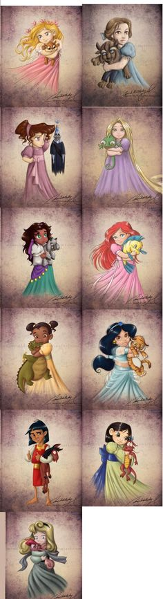OMG LOOOOVE & love that they included #Kusko :) #disney #princess babies