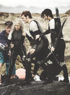 I love this, but everyone's got their hands all up on each other, and poor Mags is getting groped back there
