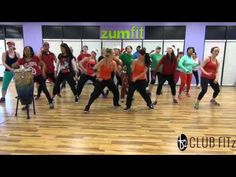 """▶ """"STUCK ON A FEELING"""" - Choreo by Kelsi for Club FITz - YouTube"""