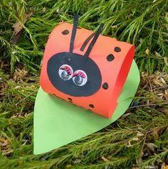 10 easy & fun LADY BUG craft ideas!