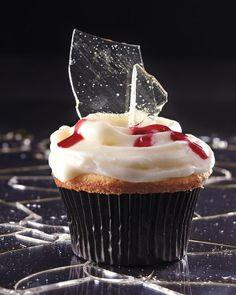 """""""Broken Glass"""" Cupcakes - Martha Stewart"""