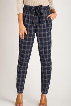 Printed Pants, Print Pants, Pants for Work, Casual Pants – Morning Lavender