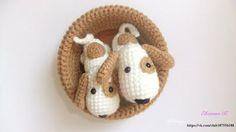 Ami-Domi Land: вяжем амигуруми: Собачки амигуруми